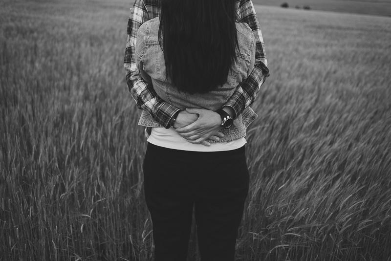 abrazo de verdad