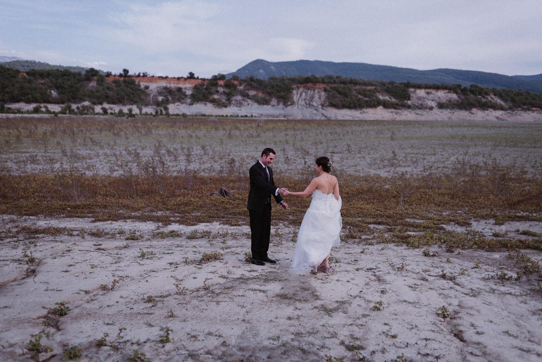 First Look de boda en la Naturaleza