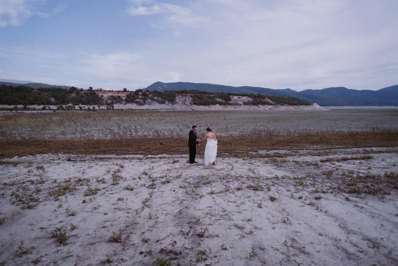 hacer First Look boda en Naturaleza
