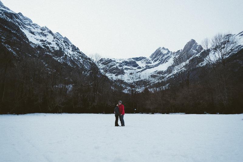 amor nieve