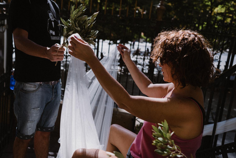 olivo en una boda