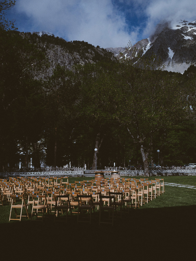 boda americana