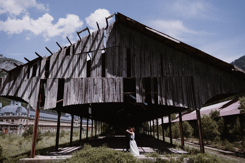 Boda Estacion de Canfranc