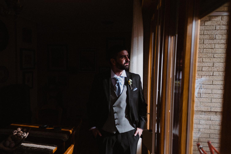 Boda Soria - Novio traje