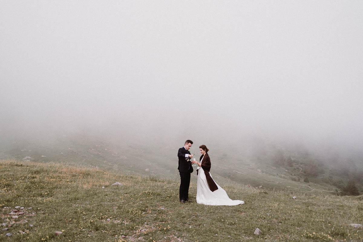 Fotos Pirineo Aragonés - pareja en el pirineo