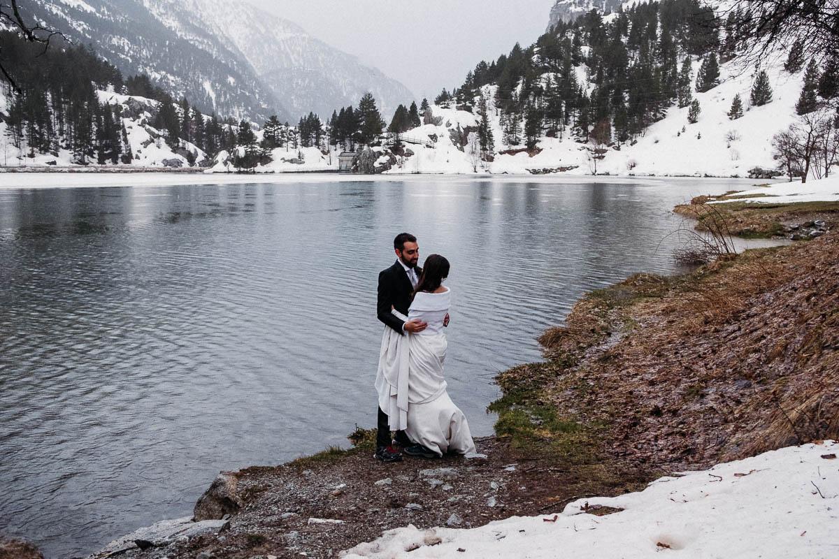 Boda en la Nieve - boda en diciembre