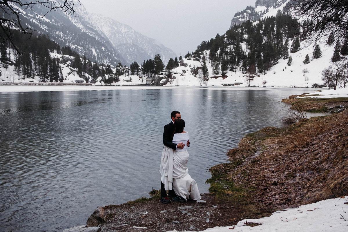 Boda en la Nieve - boda en invierno