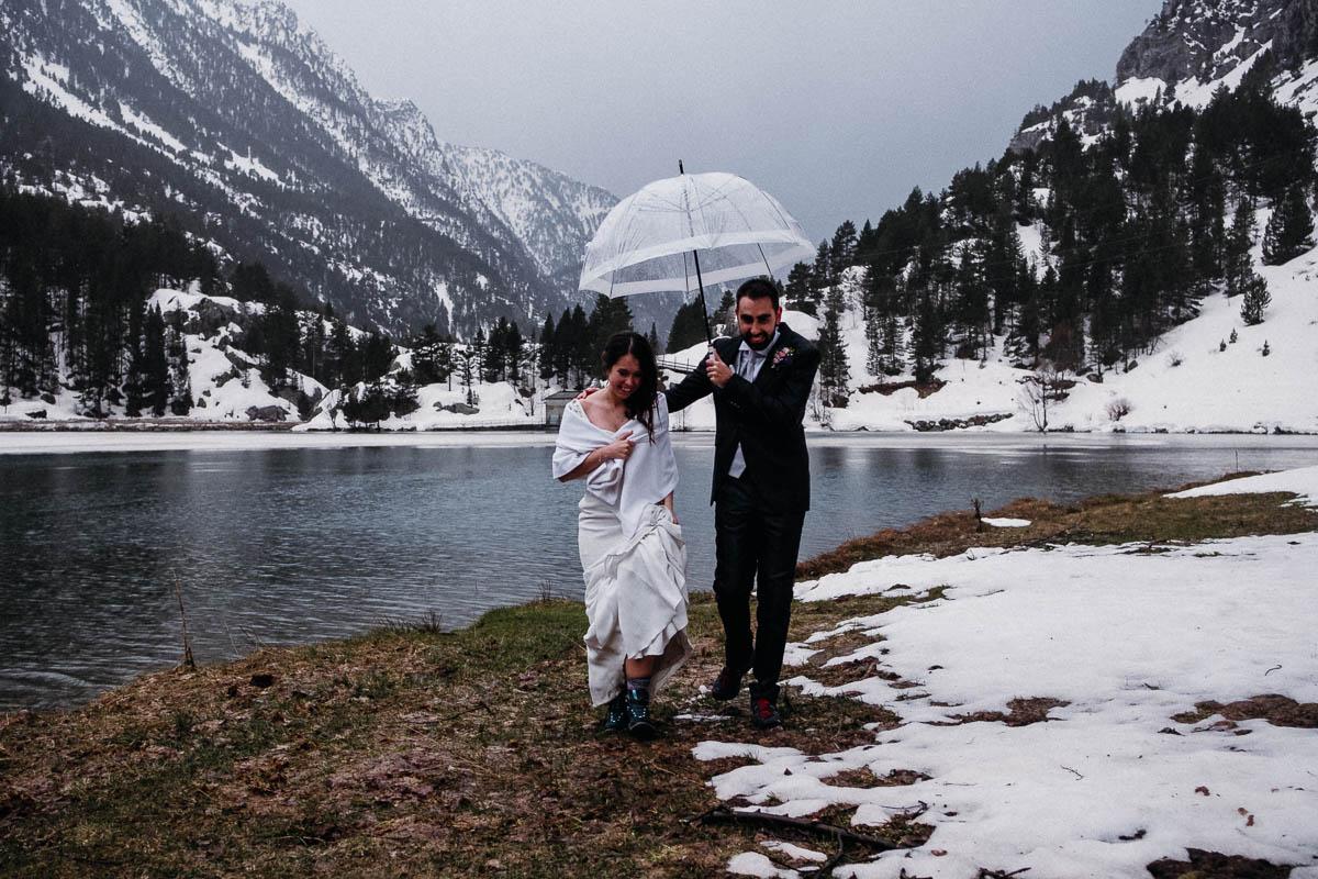 Boda en la Nieve - fotos boda nieve